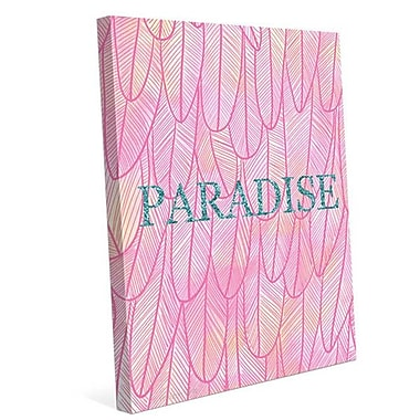 Click Wall Art 'Paradise' by HWW Graphic Art on Wrapped Canvas; 30 H x 24 W x 1.5 D