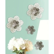 Room Mates 3D Cutout Flower Embellishments Wall Decal