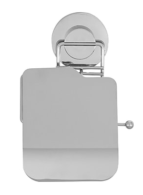 Everloc Push N' Loc Wall Mounted Toilet Paper Holder WYF078279217063