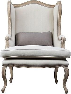 Wholesale Interiors Baxton Studio Auvergne Wingback Chair