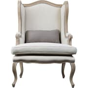Wholesale Interiors Baxton Studio Auvergne Wing back Chair