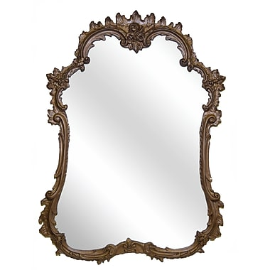 Hickory Manor House French Mirror; Bronze