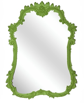 Hickory Manor House French Mirror; Luau Green