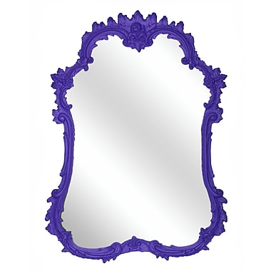 Hickory Manor House French Mirror; Violet