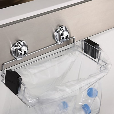 FECA Portable Plastic Trash Bag Holder for Kitchen, Grill, Recycle