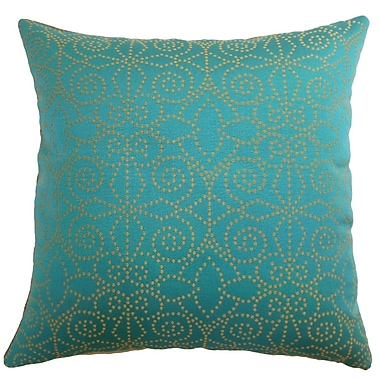 The Pillow Collection Makemo Dots Throw Pillow Cover; 20'' x 20''