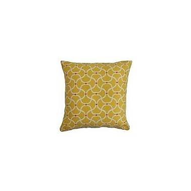 The Pillow Collection Radha Geometric Outdoor Throw Pillow Cover; 20'' x 20''