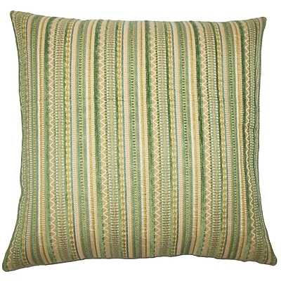 The Pillow Collection Uorsin Striped Throw Pillow Cover; 20'' x 20''