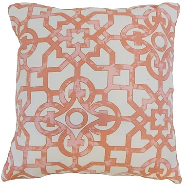 The Pillow Collection Nowles Geometric Throw Pillow Cover; 20'' x 20''