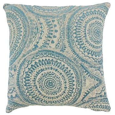 The Pillow Collection Freira Geometric Throw Pillow Cover; 18'' x 18''
