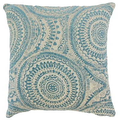 The Pillow Collection Freira Geometric Throw Pillow Cover; 20'' x 20''
