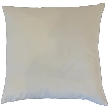 The Pillow Collection Nizal Solid Throw Pillow Cover; 20'' x 20''