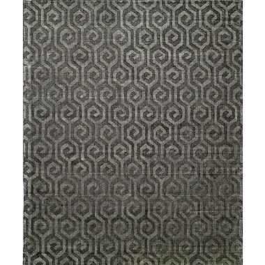 Wildon Home Handmade Gray Area Rug; 3'6'' x 5'6''