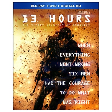 13 heures : Le secret des soldats de Benghazi (Blu-ray/DVD)
