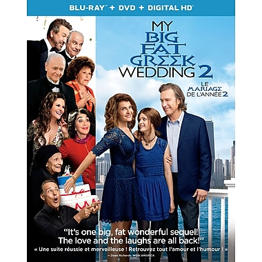 My Big Fat Greek Wedding 2 (Blu-ray/DVD)