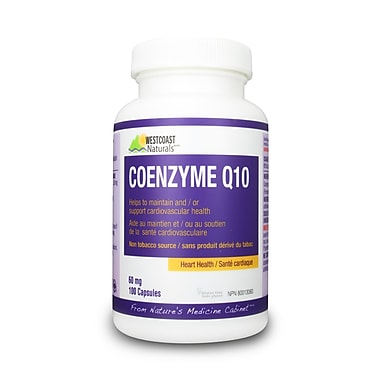 Westcoast Naturals – Coenzyme Q10, 3 x 100 capsules