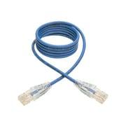 Tripp Lite 4ft Cat6 Gigabit Snagless Molded Slim UTP Patch Cable RJ45 M/M Blue 4' Patch Cable 4 Ft Blue