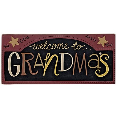 TheHearthsideCollection 'Welcome to Grandma's' Textual Art