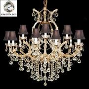 Harrison Lane Maria Theresa 16-Light Crystal Chandelier