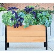 VitaGardens 4 ft. x 1 ft. Raised Garden Planter