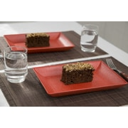 EVO Sustainable Goods Serving Dish (Set of 2); Red