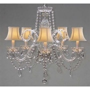 Harrison Lane Swarovski 5-Light Crystal Chandelier