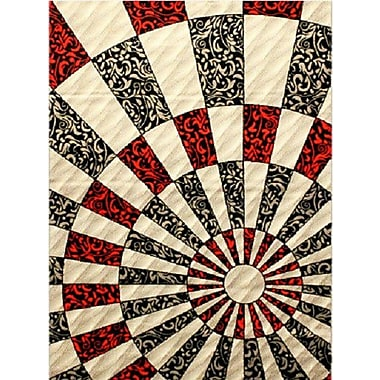 Bekmez International Inc. Elif/Passion Silver Area Rug; 7'10'' x 10'2''
