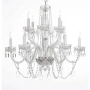 Harrison Lane Venetian 12-Lights Crystal Chandelier