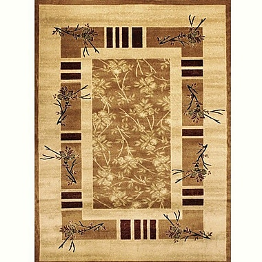 Bekmez International Inc. Elif/Passion Gold Area Rug; 5'3'' x 7'5''