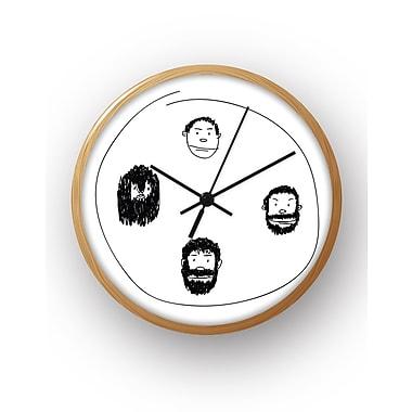 BLIK Inc 10'' Facial Hair Clock