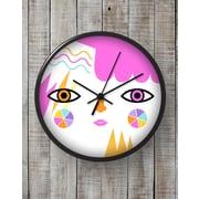 BLIK Inc 10'' Gibbous Clock