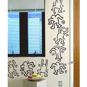 BLIK Inc Keith Haring Dancers Line Wall Decal