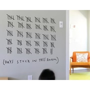 BLIK Inc Days Stuck in This Room Wall Decal