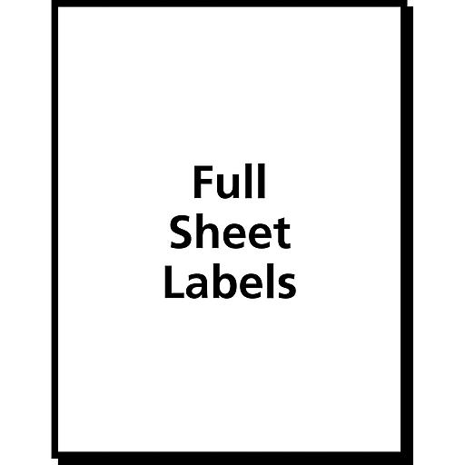 Avery 5353 white copier full sheet shipping labels 8 12 x 11 httpsstaples 3ps7is saigontimesfo