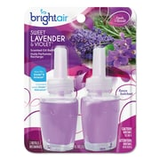 Bright Air Electric Scented Oil Refill, Sweet Lavenderviolet,0.67oz Jar, 2pk, 6pkctn