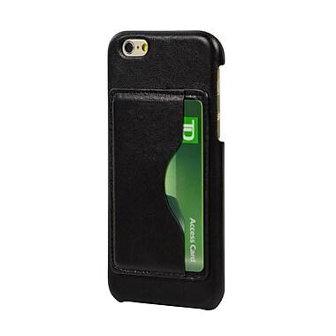 LBT – Plaque arrière en cuir véritable pour iPhone 6/6s, 1 fente pour cartes (IP6SCAR)