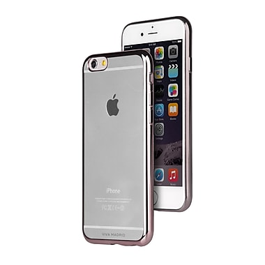 Viva Madrid – Étui Flex Metalico pour iPhone 6/6S Plus, cendre industrielle (IP6PMFX-GGMEG)