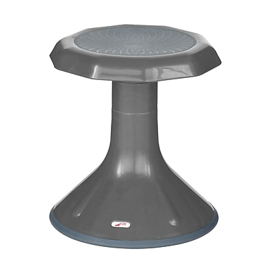 ECR4Kids® ACE Kids Stools, Grey