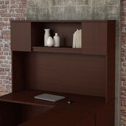 "Bush Business Furniture Emerge 60""W Hutch - Installed,HarvestCherry (22HT60CSKFA)"