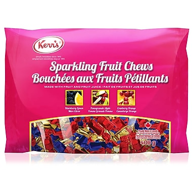Kerr's – Bonbons à mâcher pétillants aux fruits, 400 g