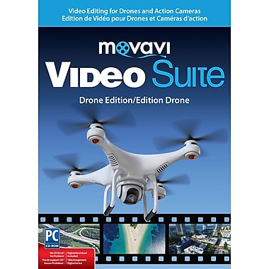 Movavi – Video Suite édition Drone, Windows