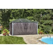 Gazebo Penguin Curtain for All-Season Marseille Gazebo, 10'x14' (455907)