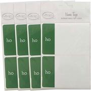 JAM PaperMD – Étiquettes-cadeaux porte-nom avec Ho-Ho-Ho, 2 1/4 x 3 1/2 po, 2/page, 96/paquet