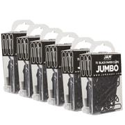 Jam PaperMD – Trombones de taille large, noir, 452/paquet