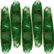 JAM PaperMD – Ruban à plumes, 3 verges par bobine, vert métallique, 5/paquet (2209816340g)