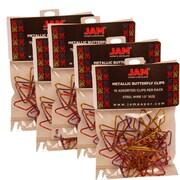 Jam PaperMD – Trombones croisés, variété de couleur, 75/paquet