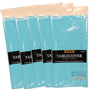 JAM PaperMD – Couverture en plastique pour table, nappes bleu marine, 5/paquet (291423363G)