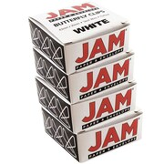 JAM Paper Butterfly Paper Clips, White Paperclips, 2 packs of 25 (332BYwhg)