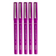JAM Paper® Calligraphy Pen, 2.0mm, Purple, 5/Pack (6504955g)