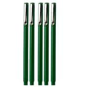 JAM Paper® Le Pen, Green, 5/Pack (7655873g)